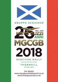 ~17712m: MOTO GUZZI CLUB GB SCOTTISH RALLY 2018 Scozia