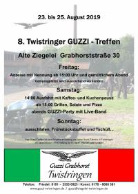 ~76938m: 8. Twistringer GUZZI - Treffen Germania
