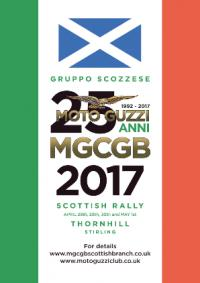 ~17931m: MOTO GUZZI CLUB GB SCOTTISH RALLY 2017 Scozia