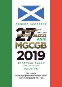 ~0m: MOTO GUZZI CLUB GB SCOTTISH RALLY 2019